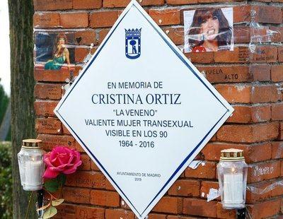 La placa en homenaje a Cristina La Veneno vuelve a estar en el Parque del Oeste