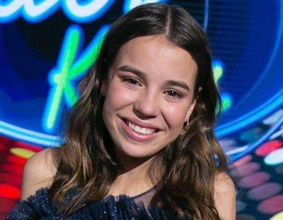 Índigo Salvador, ganadora de la primera edición de 'Idol Kids'