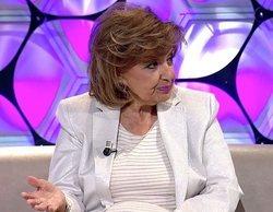 """La pulla de María Teresa Campos a 'Sálvame' en su regreso a la televisión: """"Uy, los vídeos..."""""""