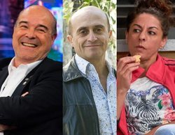 Antonio Resines, Pepe Viyuela y Cristina Medina, colaboradores de 'La Noche D', el programa de Dani Rovira