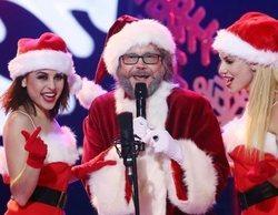 El especial de Navidad de 'TCMS' (14,1%) es lo más visto, frente a 'La casa fuerte 2', que crece a un 15,7%