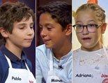 'MasterChef Junior 8': Pablo, Manel y Adriana, segundos expulsados de la edición