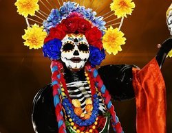 Paz Vega, concursante bajo la máscara de Catrina, ganadora de la primera edición de 'Mask Singer'