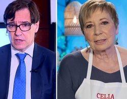 """La pillada de Celia Villalobos en 'La hora de La 1' sobre Salvador Illa: """"Yo quiero que sea presidente"""""""