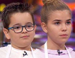 'MasterChef Junior 8': Asier y Celia, aspirantes expulsados en la Gala 4, a las puertas de la semifinal
