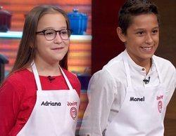 'MasterChef Junior 8': Manel y Adriana, concursantes repescados en la Gala 4