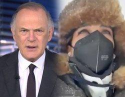 El temporal Filomena se cuela en televisión: así ha afectado la gran nevada a profesionales y programación