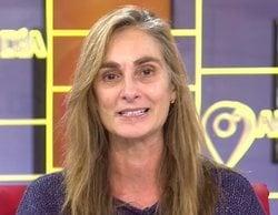 Marta Reyero, aplaudida por su profesionalidad tras llegar tarde a 'Cuatro al día' a causa del temporal