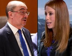 """La meteoróloga de laSexta critica duramente al presidente de Aragón: """"No tiene ni idea de ciencia"""""""