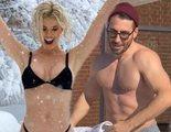 Los famosos desafían a Filomena y se desnudan en la nieve