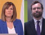 """Mònica López reprende a Espinosa de los Monteros y acaba pidiéndole disculpas: """"Me puse como una hidra"""""""