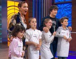 'MasterChef Junior 8': Aurora, Henar, Javier y Nicolás, finalistas de la edición