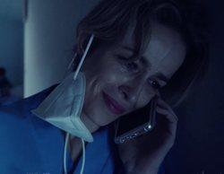 Críticas a 'Cuéntame' por la escena de María quitándose la mascarilla para hablar en un pasillo del hospital