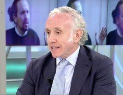 """Eduardo Inda carga duramente contra Pablo Iglesias: """"Es un vago y un jeta"""""""