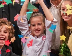 """Aurora gana 'MasterChef Junior 8': """"Con mucha paciencia he aguantado a Javier, me ponía de los nervios"""""""
