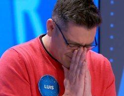 """Luis, emocionado al despedirse de 'Pasapalabra' tras perder la silla azul: """"Estás entre los grandes"""""""