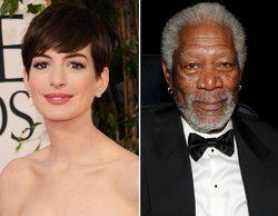 Anne Hathaway y Morgan Freeman fichan por 'Solos', lo nuevo del creador de 'Hunters' para Amazon