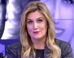 Carlota Corredera se pronuncia sobre las transiciones de 'Sálvame' y se pone seria al dar paso a Piqueras