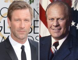 Aaron Eckhart dará vida al presidente Gerald Ford en la antología de Showtime 'The First Lady'