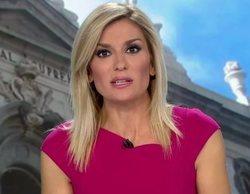 Sandra Golpe se disculpa por un fallo de carácter político en 'Antena 3 noticias' y recibe críticas en las redes