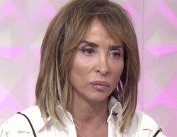 María Patiño, conmovida, opina sobre el conflicto entre Belén Esteban y Jorge Javier Vázquez