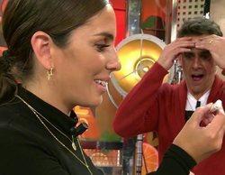 Anabel Pantoja se hace un test de embarazo en 'Sálvame' y da positivo