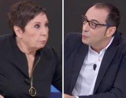 """Celia Villalobos protagoniza una confusa broma en 'La hora de La 1': """"¿Me estás amenazando porque soy mujer?"""""""