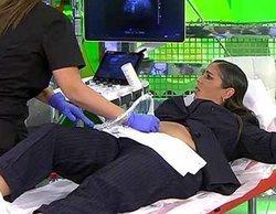 Anabel Pantoja se somete a una ecografía en 'Sálvame' para descubrir si realmente está embarazada
