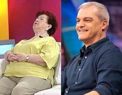 """La tía de Pablo Motos se quedó dormida en el programa de Ramón García: """"Es una hora muy mala"""""""