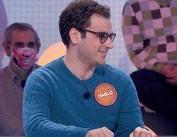 Pablo Díaz ('Pasapalabra') estuvo en 'La ruleta de la suerte' con solo 18 años