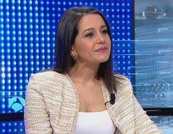 """Inés Arrimadas carga contra PSOE y PP por RTVE: """"Se reparten los jueces y la tele en un cuarto oscuro"""""""