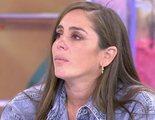 Una llamada de Kiko Rivera arranca las lágrimas de Anabel Pantoja en su ¿despedida? de 'Sálvame'
