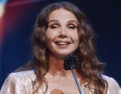 """Victoria Abril, en los Premios Feroz 2021: """"Pido disculpas si ofendí a los que perdieron a sus seres queridos"""""""