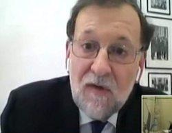 """El rótulo (falso) de TVE que ha hecho arder las redes: """"Testifica M. Rajoy"""""""