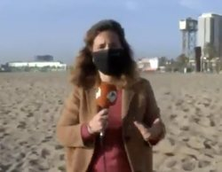 Polémica en 'Espejo público' tras traducir erróneamente las declaraciones de un turista sin mascarilla