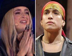 Lola Índigo no puede evitar las lágrimas con la emotiva historia de su amigo Exon en 'The Dancer'