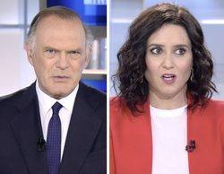 Pedro Piqueras pone en un tenso aprieto a Isabel Díaz Ayuso sobre su gestión de la pandemia