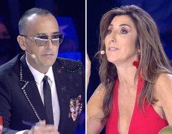 Dura crítica de Risto Mejide a una concursante de 'Got Talent España' que Paz Padilla no acepta