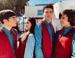 Flavio, Samantha, Roi Méndez y Lucía Ramos graban el piloto de la serie 'Ni p*** idea de música'