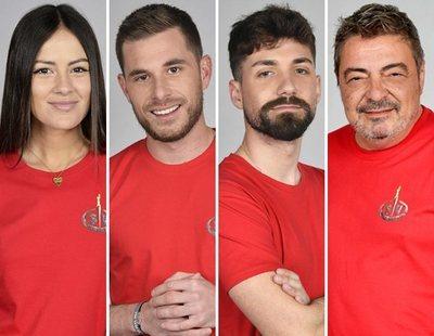 Melyssa, Tom, Alejandro y Antonio, concursantes nominados en 'Supervivientes 2021'