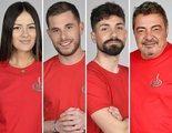 'Supervivientes 2021': Melyssa, Tom, Alejandro y Antonio, concursantes nominados en la Gala 2