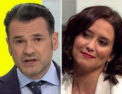 Iñaki López acaba pidiendo perdón a Isabel Díaz Ayuso por un comentado y anecdótico lapsus