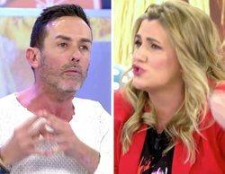 """Tenso enfrentamiento entre Carlota Corredera y Jesús Manuel por Rocío Carrasco: """"¿Tengo que echarte de plató?"""""""