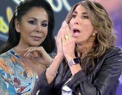 Paz Padilla la lía intentando colarse en los estudios de 'Top Star' para darle su libro a Isabel Pantoja