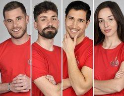 'Supervivientes 2021': Tom, Alejandro, Gianmarco y Palito, concursantes nominados en la Gala 3