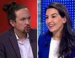 Pablo Iglesias abandona muy indignado el debate de la Cadena Ser, tras los ataques de Rocío Monasterio