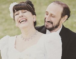 'La que se avecina': Estas son las inéditas fotos de la boda de Enrique y Araceli