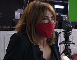 "María Patiño, al límite en 'Sálvame' por un ""like"" a un tuit contra Belén Esteban: ""Lo siento, os he fallado"""