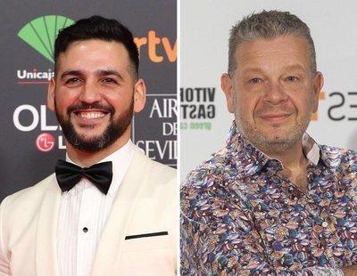 Fran Perea y Alberto Chicote saltan de la televisión a las mesas electorales madrileñas