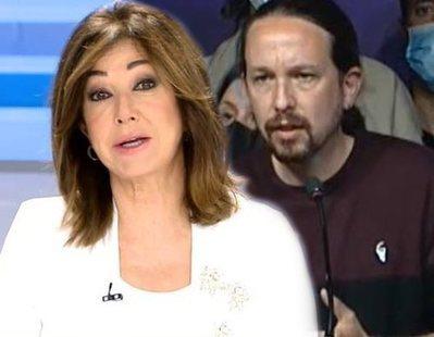 La dura despedida de Ana Rosa Quintana a Pablo Iglesias: